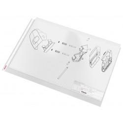 Folie protectie A3, 85 microni Esselte