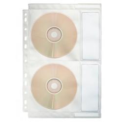 Folie protectie A4 pentru CD Esselte