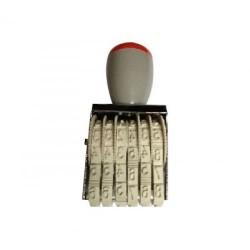 Inseriator manual din plastic 6 cifre