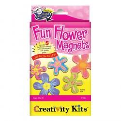 Set Creativity magneti in forma de floare Faber-Castell