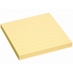 Notes autoadeziv 75*75 mm liniat 100file/set