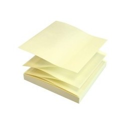 Notes autoadeziv 75x75 mm forma de Z