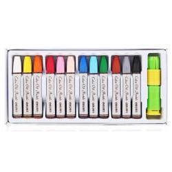Creioane ulei pastel 12 culori Deli 72050