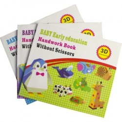 "Caiet de creatie 3D cu forme pretaiate ""Handwork Book"""