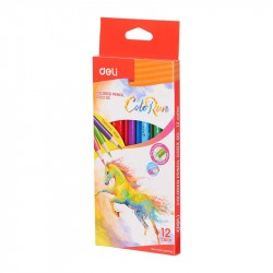 Creioane colorate 12 culori Bic Tropicolors