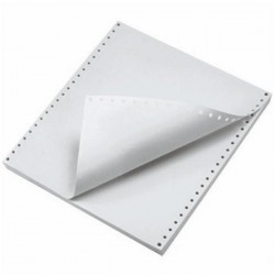 Hartie imprimanta matriceala A4, 2exemplare alb 55g 900 seturi
