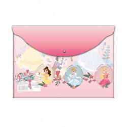 Mapa plastic cu buton Princess