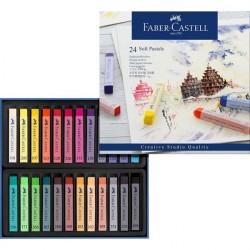 Creioane Ulei Pastel 12 culori Faber-Castell