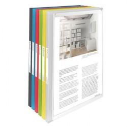 Mapa prezentare, coperti flexibile 20 file Vivida Esselte