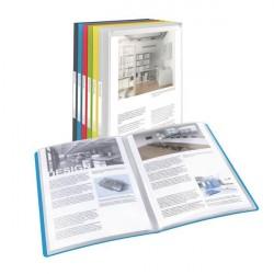 Mapa prezentare, coperti flexibile 40 file Vivida Esselte