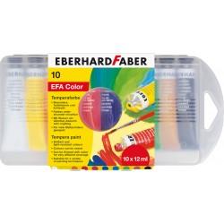 Tempera 10 culori 12ml Eberhard Faber