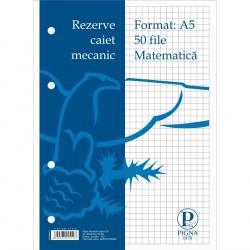 Rezerva caiet mecanic A4 50 file/set