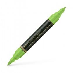 Marker Solubil Verde Frunza 112 A.Durer Faber-Castell