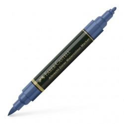 Marker Solubil Albastru Indian 247 A.Durer Faber-Castell