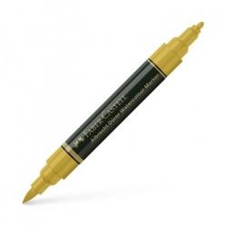 Marker Solubil Verde Auriu 268 A.Durer Faber-Castell