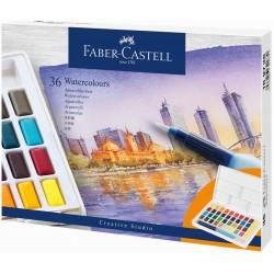 Acuarele 36 culori Creative Studio Faber-Castell