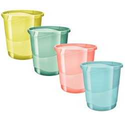 Cos de birou 14l Colour'Ice Esselte