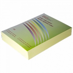 Hartie (carton) culori pastel A4, 160 g/mp, 250 coli/top