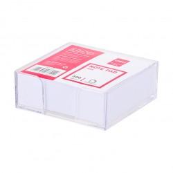 Rezerva cub hartie  91x87mm 300 file cu suport Deli