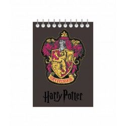 Bloc notes cu spira A6 70file Harry Potter