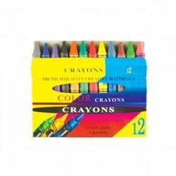 Creioane cerate Jumbo 12culori