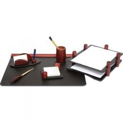Set de birou din lemn Mahon