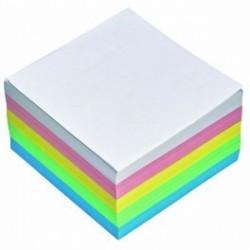Cub hartie color 9x9cm, 400 file