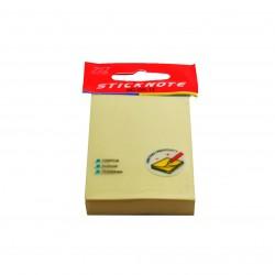 Notes autoadeziv 76x50mm, 100 file pastel
