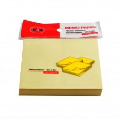 Notes autoadeziv 76x76mm, 100/set pastel