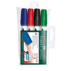 Set 4 Marker Whiteboard Winner 152 Faber-Castell