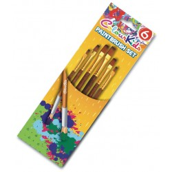 Pensule scolare 3/set vf ascutit Colour Kids Pigna