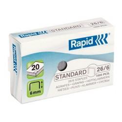 Capse 26/6 Rapid Standard