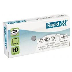 Capse 23/6 Rapid Standard
