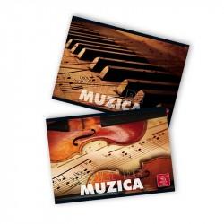 Caiet de muzica 24 file Pigna Color