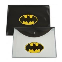 Mapa plastic cu buton Batman