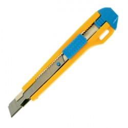 Cutter mic 9mm cu sina metalica si sistem autoblocare