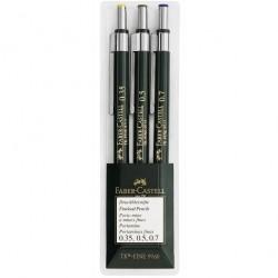 Set 3 creioane mecanice TK-Fine Faber-Castell