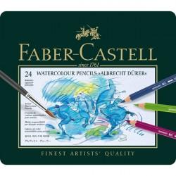 Creioane Colorate Acuarela 24 culori A.Durer Faber-Castell